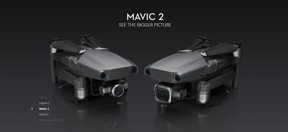 dji mavic 2 zoom and pro