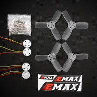 EMAX Power Combo - RS1104 5250KV Motor x4 and T2345 Propeller x4