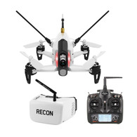Walkera Rodeo 150 Racing Drone RTF with Devo 7 and Fat Shark Recon V2