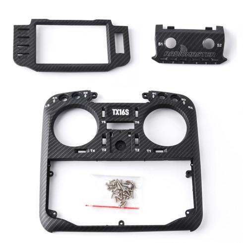 RadioMaster TX16S carbon front case