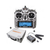 FrSky Taranis X9D plus transmitter w/ X8R receiver and Alumimum case