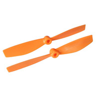 Walkera Part F210-3D-Z-01 Propellers 1 Pair Orange(for 2D flying)