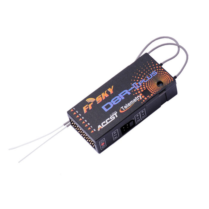 FrSky 2 4GHz ACCST Telemetry Receiver D8R-II Plus