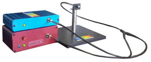 The Dual Fiber Optic Spectrometer system for radiometry includes a BLUE-Wave & DWARF-Star spectrometer for irradiance measurments in W/m^2 over a 200-1700nm wavelength range.