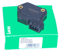 Ignition Module, Control Unit, ignition system Genuine Lucas DAB118 3 pin