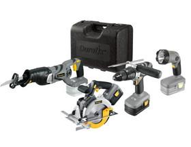 Durofix Combo set, Li-ion 18V Foldable Flashlight & LED Working Light