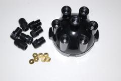 25D6 + 22D6 screw type Intermotor distributor cap 44890 replaces Lucas DDB115