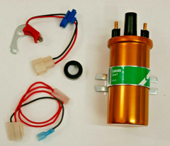 Electronic conversion kit & Coil For Lucas 22D & 25D 6 CLY Distributors
