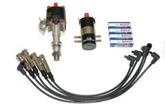 MK1 Golf 1.8 + Passat MK2 1.8 Distributor Coil Ht-leads Spark plugs Kit UK stock