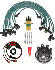 Triumph Stag ignition Leads,Coil,Electronic Ignition,Rotor,Cap & Spark plug kit