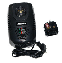 Acdelco 12V Battery Charger (G12 Series) ADC12EU07-40 for AB1207L Battery range