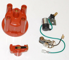 Ford Pinto Distributor Repair Kit Cap & Rotor Arm & Points & Condensor