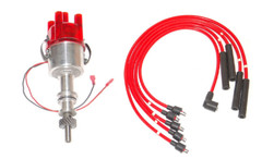 Ford Pinto Bosch Type Electronic distributor to fit Pinto Engine + Red HT Leads