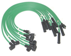 Green HT Leads for Rover V8 Based cars 8mm Silicon manufactured in UK