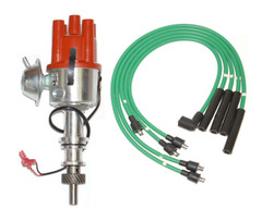 Ford Pinto Electronic distributor fits Pinto Engine + Green HT Leads