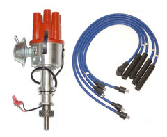 Ford Pinto Electronic distributor fits Pinto Engine + Blue HT Leads