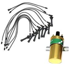 DAIMLER V8 250 Dart Majestic Major SP250 Ignition/HT Leads & coil UK stock