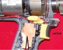Durofix Acdelco ARI2023 RI2023 JUMBO Impact wrench switch