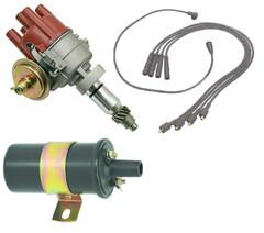 Distributor Suzuki Super Carry SC100 Samurai F10A Engine ignition Leads & Coil
