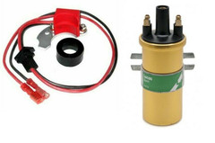 Electronic Ignition Kit  + coil Fiat 131 132 Marelli Distributors S155CY + S156L