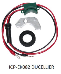 Electronic ignition conversion kit for Ducellier None vacuum Distributors