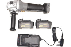 """Durofix ACDelco 20V 115 mm (4-1/2"""") Cordless Angle Grinder Tool and 2 batteries"""