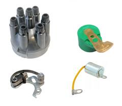 Lucas 25D6 & 22D6 Distributor Repair Kit Screw fit Cap Replaces DDB115