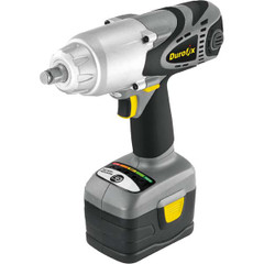 "Durofix RI2066 Li-ion 18V 1/2"" Super Torque Impact Wrench 4 pole high torque motor delivers high efficient torque in compact"