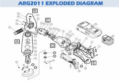 Angle Grinder spares RG2008 / RG2011