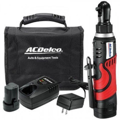 AcDelco ARW804AEU 7.2v Super compact ratchet wrench kit