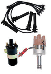 New Electronic Distributor Ignition leads and coil For Citroen H, HY, Traction