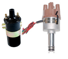 New Electronic Distributor and coil For Citroen H, HY, Traction