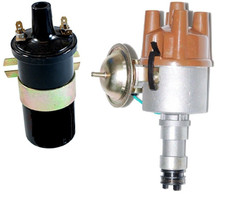 New Points Distributor & Coil Talbot Express Fiat Citroen Peugeot Campers