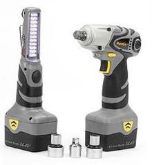 Impact Wrench Driver / screw driver converter 14.4 Volt Durofix RI1658
