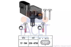 Air Pressure Sensor, height adaptation FACET 10.3081