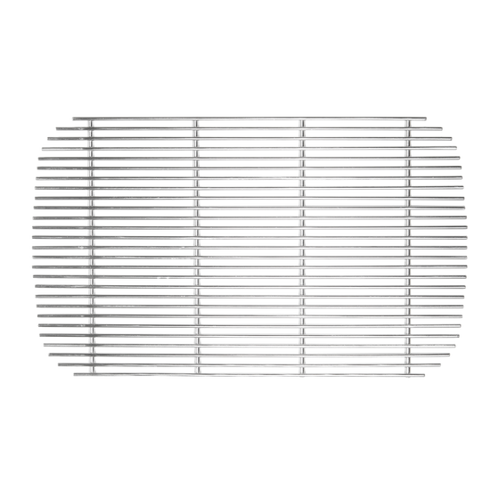 Stainless steel charcoal grate for Original PK Grill & Smoker