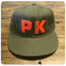 Limited edition PK vintage flannel ballcap by Ebbets Field.