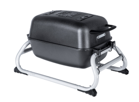 The Original PKGO Tailgate Grill and Smoker in Graphite.