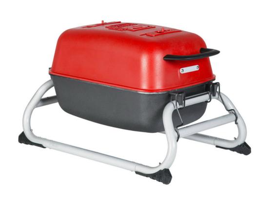 The Original PKGO Grill & Smoker - Limited Edition Red Graphite