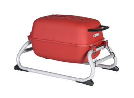 The Original PKGO Tailgate Grill - Matte Red