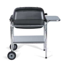 The Classic PK Grill & Smoker portable charcoal barbecue grill in graphite powder coat.