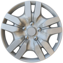 KT-1036-16S/L, TOYOTA CAMRY 16 WHEEL COVER SILVER/LACQUER