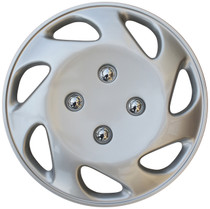 KT-848-14S/L, 1992 - 1997 HONDA CIVIC 14 WHEEL COVER SILVER/LACQUER