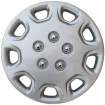 KT-853-14S/L, 1995 - 1996 TOYOTA CAMRY 14 WHEEL COVER SILVER/LACQUER