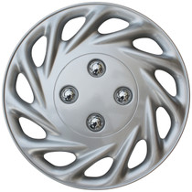 KT-858-13S/L, 1998 FORD ESCORT 13 WHEEL COVER SILVER/LACQUER