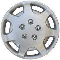 KT-863-14S/L, TOYOTA CAMRY 14 WHEEL COVER SILVER/LACQUER