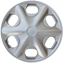 KT-935-15S/L, 2000 - 2001 TOYOTA CAMRY 15 WHEEL COVER SILVER/LACQUER