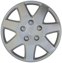 KT-962-16S/L, 2003 - 2005 CHRYSLER SEBRING 16 WHEEL COVER SILVER/LACQUER