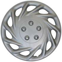KT-858-17S/L, FORD ESCORT 17 WHEEL COVER SILVER/LACQUER