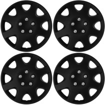 KT-895-15MBK, 15 WHEEL COVER MATTE BLACK